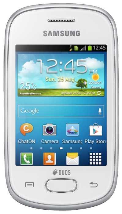 Замена аккумуляторной батареи Galaxy Star GT-S5282